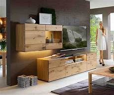 wohnzimmerschrank eiche massiv komplett mit tv lowboard