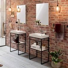 moderner badspiegel mit ablage in schwarz wei 223 50x79x13