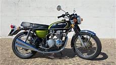 Honda Cb 500 Four 1973 Start Up And Sound