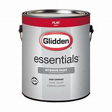 glidden essentials 1 gal white flat interior paint gle 1000 01 the home depot