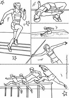 sports coloring worksheets 15762 athletics collage colouring page