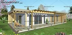 maison kit prix tarif maison bois kit contemporaine