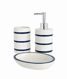 Bathroom Accessories Set Asda by Asda Bathroom Range Navy Stripe Bathroom Accessories