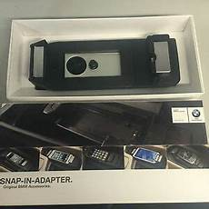 bmw iphone 6 phone charging cradle snap in adapter holder