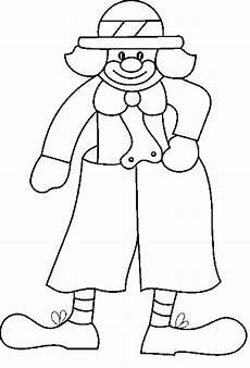 malvorlagen clown ausmalbilder f 252 r kinder kindergarten