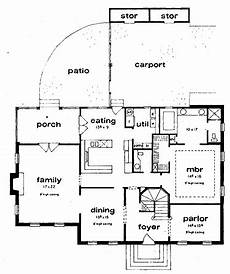 builder house plans com four bedroom colonial revival hwbdo61966 colonial