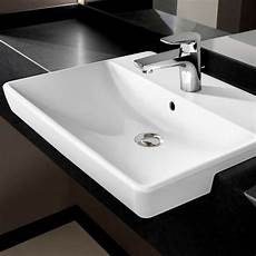 villeroy boch avento slimline semi recessed washbasin