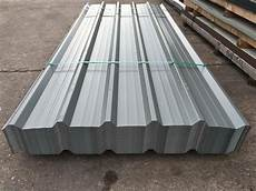 box profile steel roofing sheets merlin grey pvc coated metal roof cladding ebay