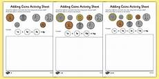 adding money worksheets ks1 2569 adding coins worksheet money addition resources