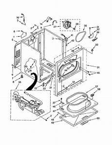 80 series kenmore gas dryer not heating