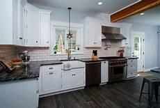 traditional white kitchen in allentown pa morris black