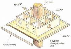 purple martin bird house plans how to build a birdhouse for martins diy mother earth news