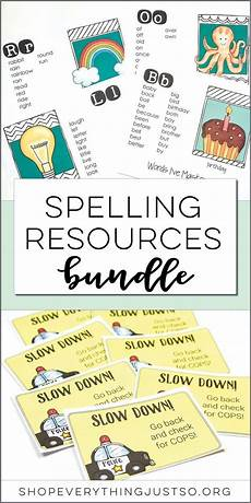 spelling improvement worksheets 22426 spelling resources bundle looking for a way to improve automaticity in the words students