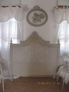 lit style romantique t 234 te de lit louise patine
