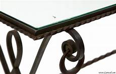 wrought iron coffee tables with glass top antique wrought iron glass top coffee table from