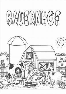 Ausmalbilder Thema Bauernhof Bauernhof Kostenlose Ausmalbilder Zeichnung Thema