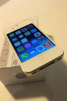 Apple Iphone 4s 16gb White At T Like New Used