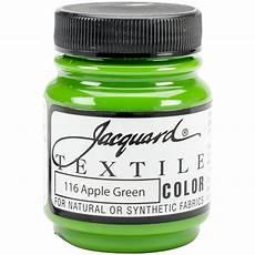 jacquard textile color fabric paint 2 25oz apple green