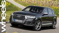 audi sq7 review new car reviews wheels australia youtube