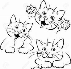 Malvorlage Katze Liegend Stock Photo Illustrazioni Trapunta Con Gatti E Disegni