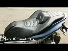 Variasi Jok Motor by Jual Jok Motor Variasi Aerox Jok Custom Yamaha Aerox Bahan