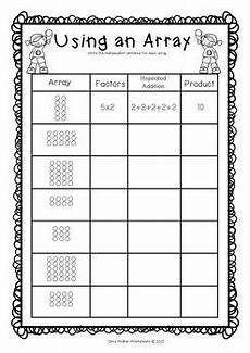 division worksheets with arrays 6420 arrays worksheets grade two math standard multiplication printables array worksheets
