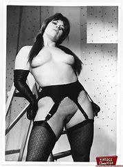 Sixties nude lingerie