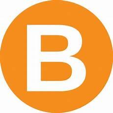 B Orange b logos