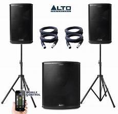 Alto Black Series 18s 10 Power Pack 1