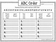 abc order worksheets 15559 2 word work freebies word work grade words dictionary skills