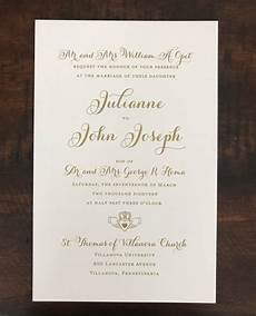 Parents Names On Wedding Invitations