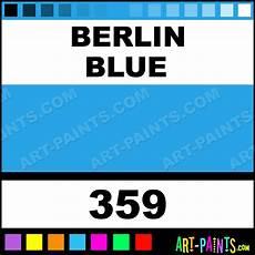 Berlin Blue Watercolor Paints 359 Berlin Blue