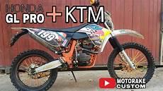 Klx Modif Ktm by Trail Gl Pro Modifikasi Ktm Kaki Klx
