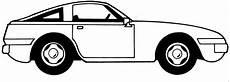 Malvorlage Auto Einfach Einfaches Auto Seitlich Ausmalbild Malvorlage Auto