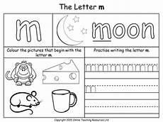 letter m m worksheets 24306 letters of the alphabet teaching pack 24 powerpoint presentations and 26 worksheets by