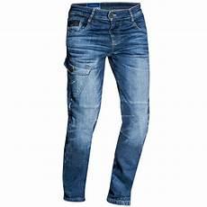 Jean Ixon Defender Stonewash Pantalon Moto Homme Textile