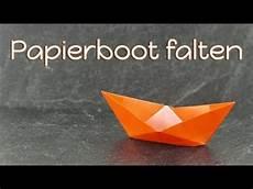 Papierboot Falten 02 Tempotipp Origami Boot Aus