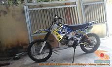 Modifikasi Trail Gtx Bebek Basis Mesin Yamaha Tahun