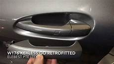 Mercedes A Class W176 Keyless Go Retrofitted