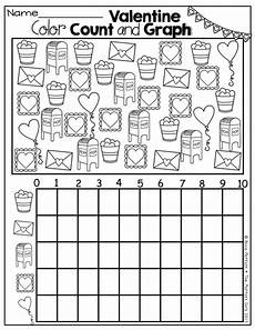 shapes worksheets in 1105 february no prep packet kindergarten colors count and math