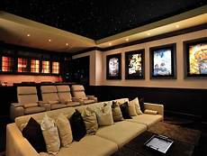 Home Theater Room Decor Ideas by Simple Basement Home Theater Room Decorating Ideas For