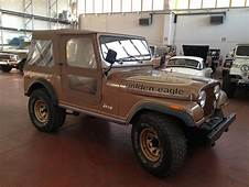 Classic Cars  Gallery Jeep CJ 7 GOLDEN EAGLE