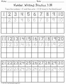number writing practice 1 30 writing numbers numbers kindergarten number writing practice