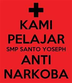 Kami Pelajar Smp Santo Yoseph Anti Narkoba Poster Kirana