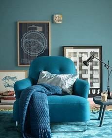 wohnen mit farben wandfarbe rot blau gr 252 n und grau
