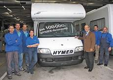 the history of the hymer motorhome