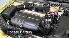 how cars engines work 2004 saab 42072 spare parts catalogs battery replacement 2003 2007 saab 9 3 2004 saab 9 3 arc 2 0l 4 cyl turbo convertible 2 door