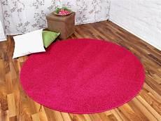 hochflor shaggy teppich prestige pink rund in 7 gr 246 223 en