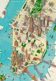 manhattan map pdf maps of new york top tourist