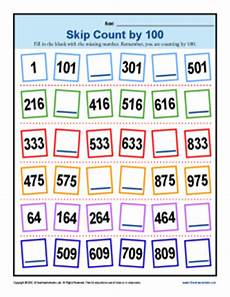 skip counting by 100 worksheets 2nd grade 12032 skip counting by 100 worksheets 2nd grade math activities